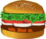ボリューム満点!バーガーのカールスジュニアオープン めざましテレビ